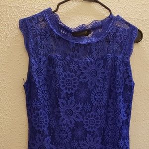 *NEW* Royal Blue Lace Dress